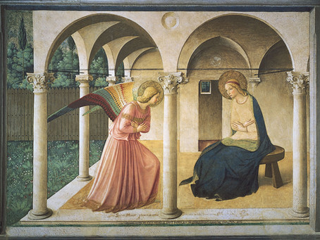 The Annunciation | By the Rev. Scott Lee