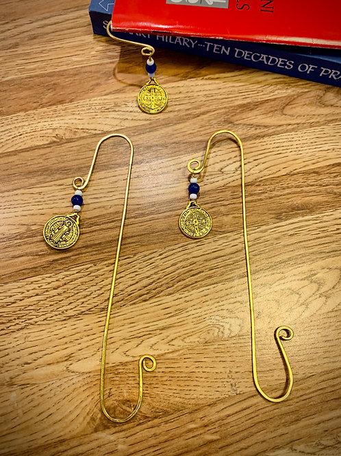 Wire Bookmark - St. Benedict