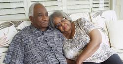 1-black couple on porch