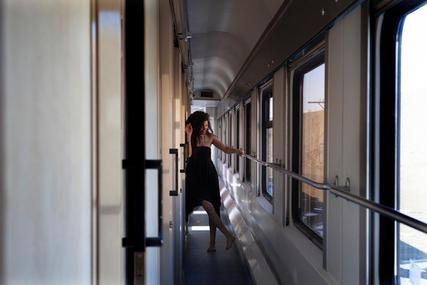 On the train   Wait