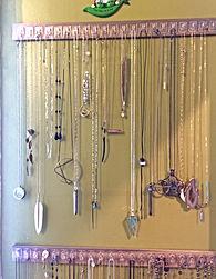 Inexpensive Necklace Storage