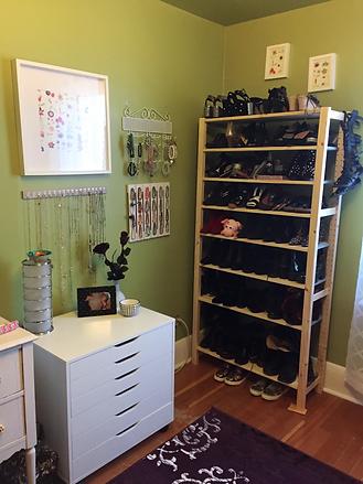 Functional Shoe Storage