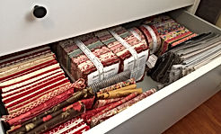 Neatly Folded Fabric