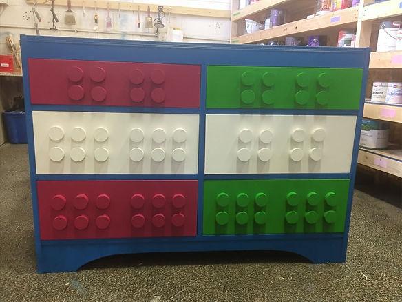 UpCycled Dresser, Lego Drawers.jpg