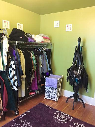 Hanging Clothes Storage, Purse Storage, Dressing Room