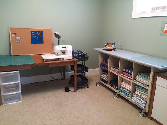 A Quilter's Dream Room