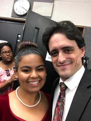 Michael C, Kregler composer Brockton High School Chorus Choir Students