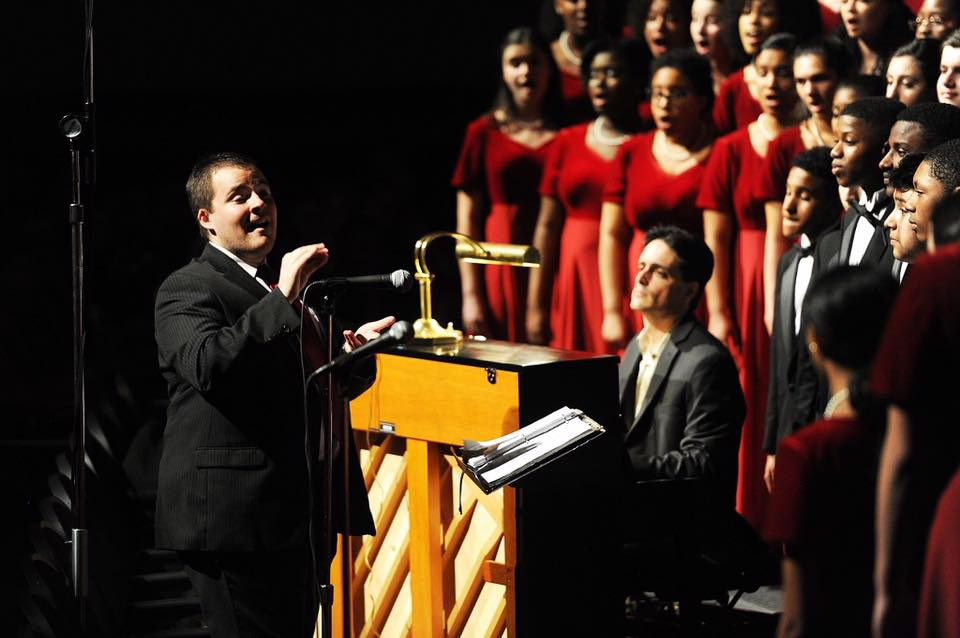 Matthew Cunningham Brockton High School Chorus Choir Kregler