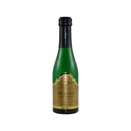 s7 Sekt extra trocken Winzersekt Riesling Piccolo Weingut Siebenhof Zotzenheim Rheinhessen Qualitätswein Flaschengärung
