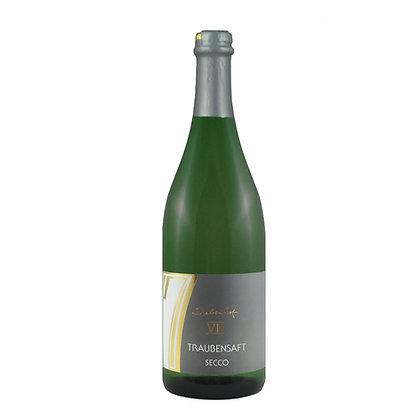 t1 Traubensaft Secco Scheurebe Alkoholfrei Sekt Weingut Siebenhof Zotzenheim Qualitätswein Rheinhessen