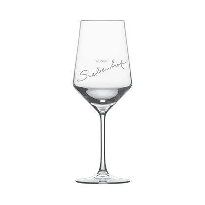 z03 Weinglas Aufdruck Wein individuelles Geschenk Geburtstag Präsent Zubehör Weingut Siebenhof Zotzenheim Rheinhessen