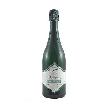s1 Sekt halbtrocken Winzersekt Riesling Weingut Siebenhof Zotzenheim Rheinhessen Qualitätswein Traditionell Flaschengärung