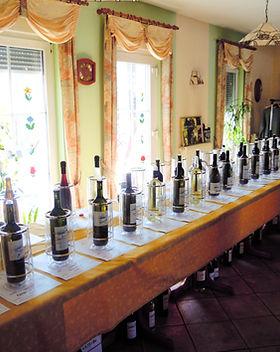 Weinverkostung Weinvielfalt Weinprobe