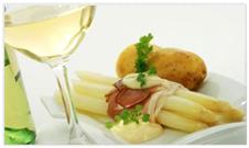 Spargelstecher edles Gemüse Siebenwein Gericht Empfehlung