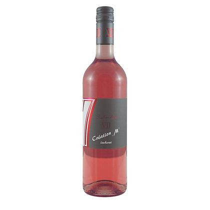 c6a Création M Rosé lachsrot Dornfelder Weißherbst Weingut Siebenhof Zotzenheim Qualitätswein Rheinhessen