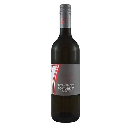 c2 Dornfelder Portugieser halbtrocken  Rotwein Literwein Qualitätswein Weingut Siebenhof Zotzenheim Rheinhessen