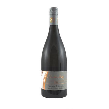k2 Weißburgunder KarMa Prestige Barrique trocken Holz Edel Weingut Siebenhof Zotzenheim Qualitätswein Rheinhessen