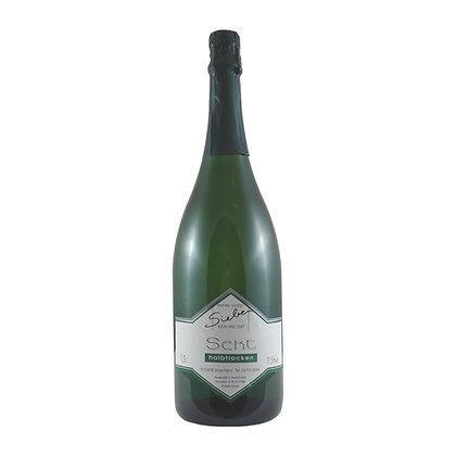 s6 Magnumsekt Sekt halbtrocken Winzersekt Riesling Weingut Siebenhof Zotzenheim Rheinhessen Qualitätswein Flaschengärung