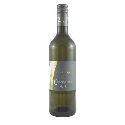 a7 Chardonnay No.7 Classic halbtrocken Qualitätswein Weingut Siebenhof Zotzenheim Rheinhessen Rheinhessenwein Weißwein