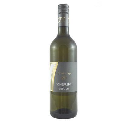 b2 Scheurebe lieblich Aromasorte Qualitätswein Weingut Siebenhof Zotzenheim Rheinhessen Rheinhessenwein Weißwein