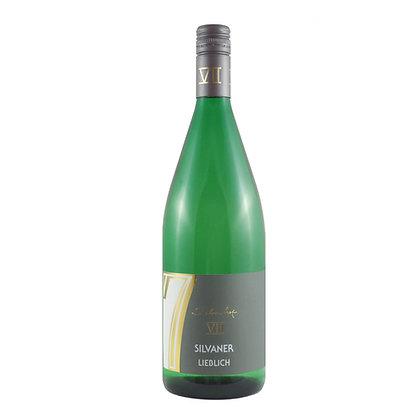b1 Silvaner lieblich Literwein Qualitätswein Weingut Siebenhof Zotzenheim Rheinhessen Rheinhessenwein Weißwein