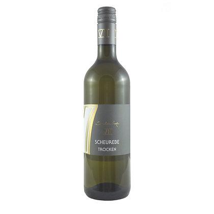 a5 Scheurebe trocken Aromasorte Qualitätswein Weingut Siebenhof Zotzenheim Rheinhessen Rheinhessenwein Weißwein