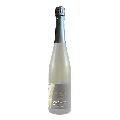 s2 SieSecco Perlwein Prosecco weiß trocken Sauvignon blanc Weingut Siebenhof Zotzenheim Rheinhessen Qualitätswein