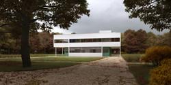 Villa Savoye, Le Corbusier Automne