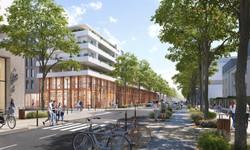 Montpellier ZAC Restanque espaces publics