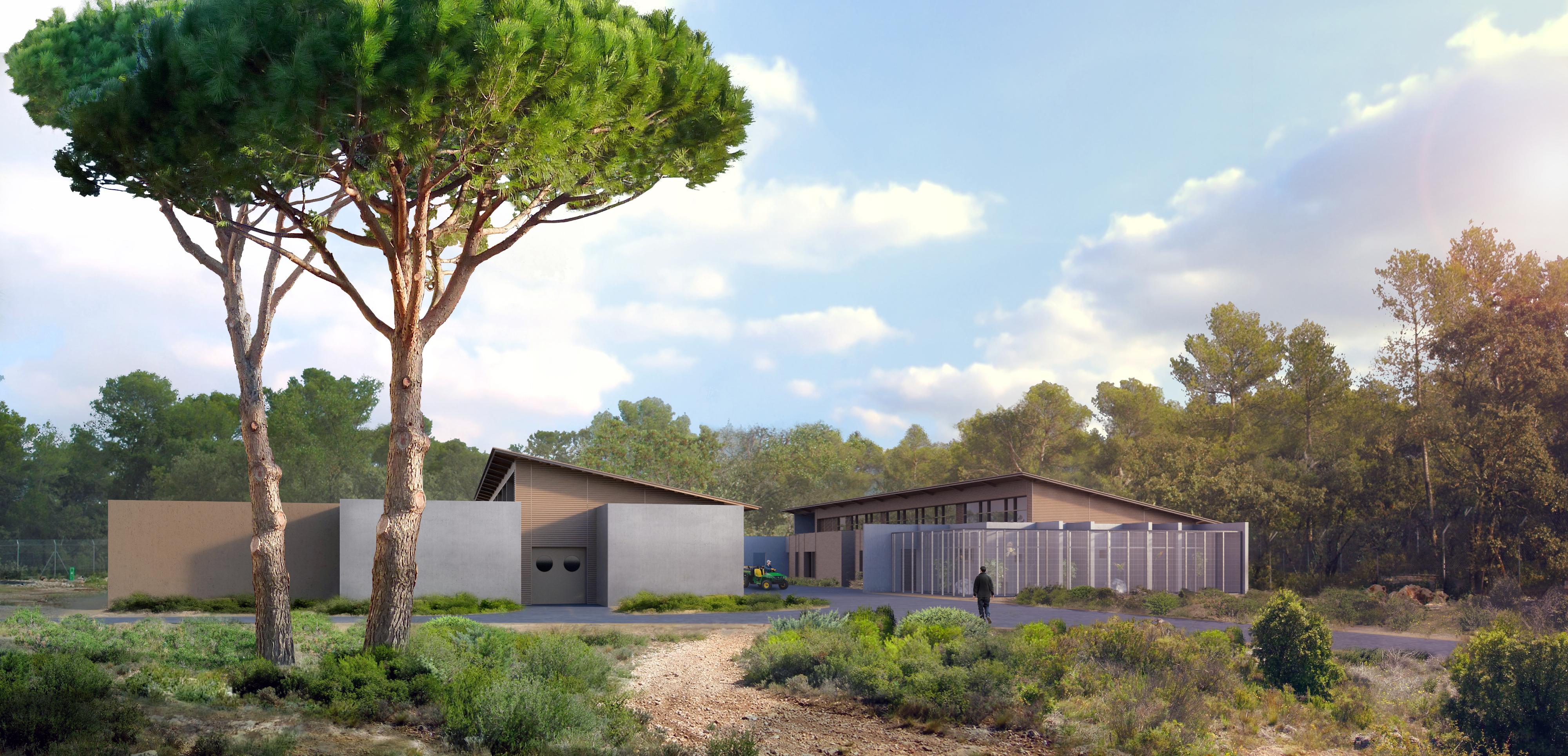 Montpellier, Zoo de Lunaret