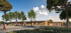 Loupian Projet mixte, Centre d'entretien des routes et Accueil social pour enfants