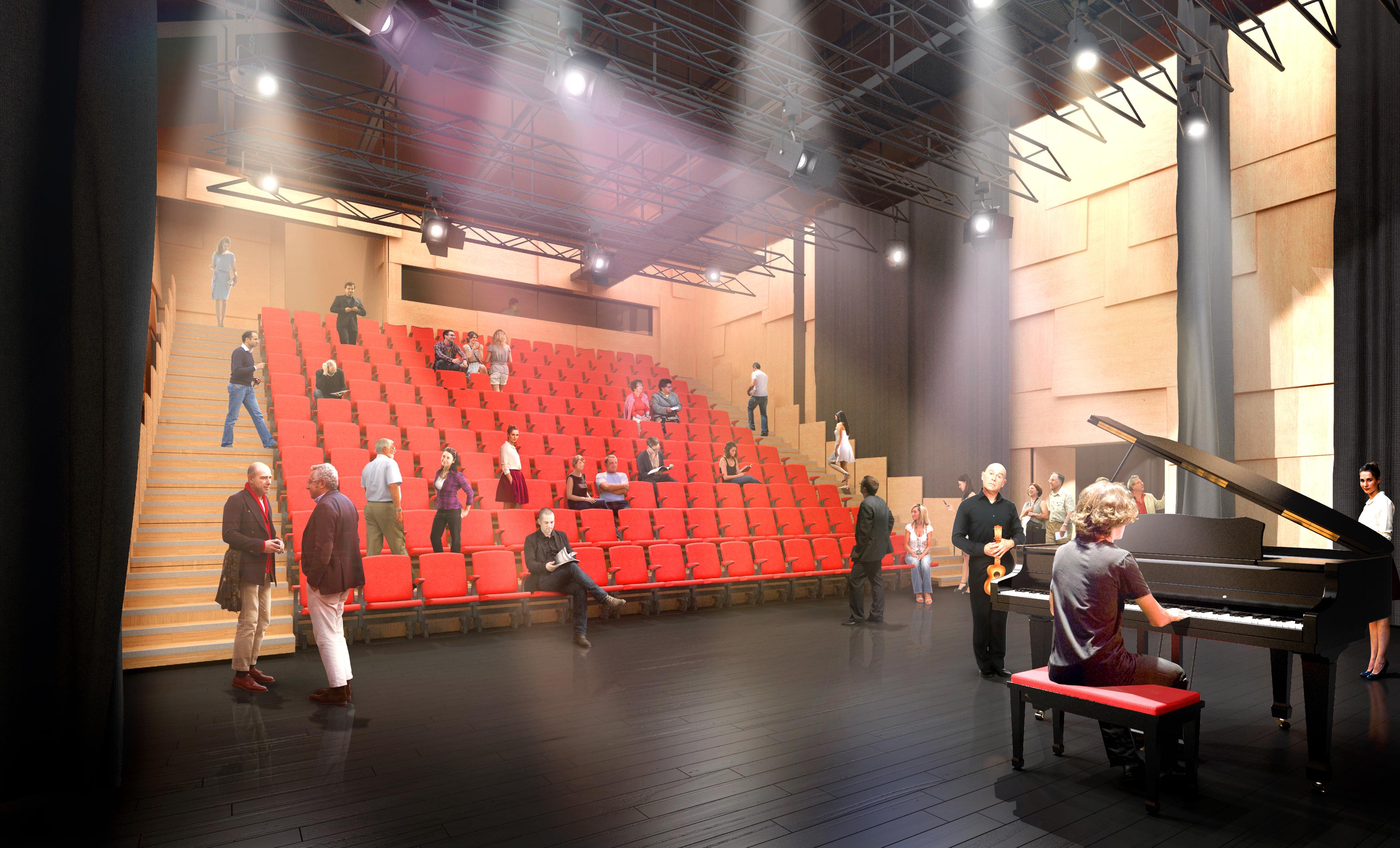 Bayssan, Théâtre
