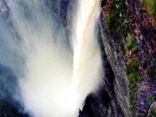 The Fumaça Waterfall