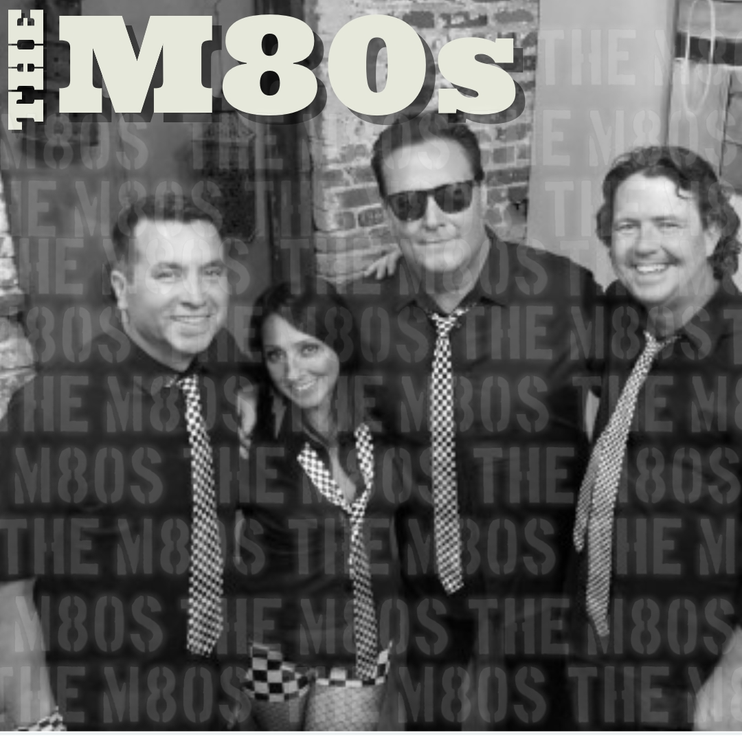 The M80s band backstage