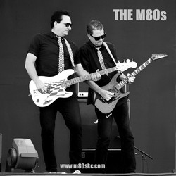 The M80s band in concert