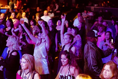 The M80s concert at Harrah's Casino
