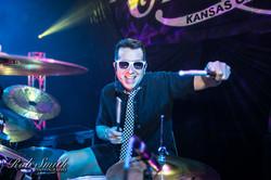 The M80s drummer - Ed Valdez