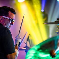 The M80s drummer Ed Valdez