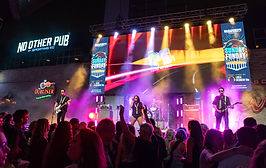 The M80s band at KC Power & Light