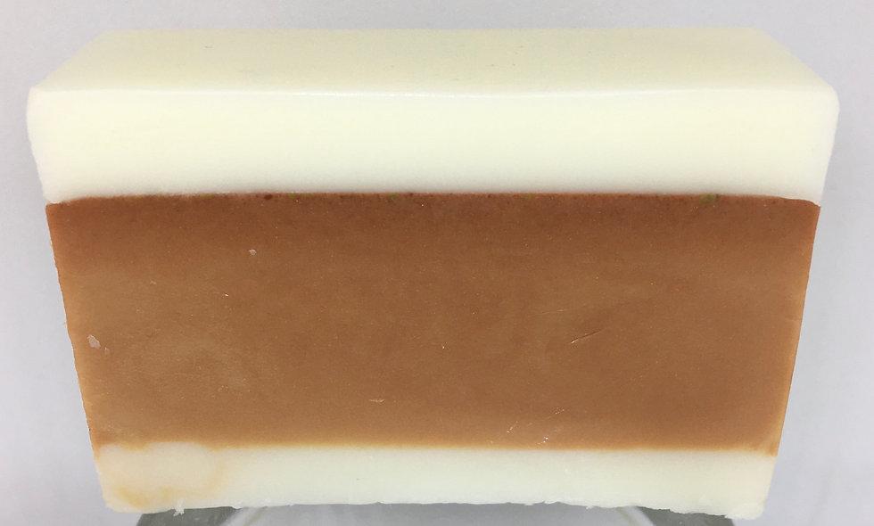 Orange Five Fold Goats Milk Soap
