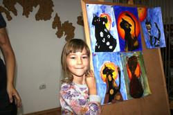 Primele pisicute - curs de pictură