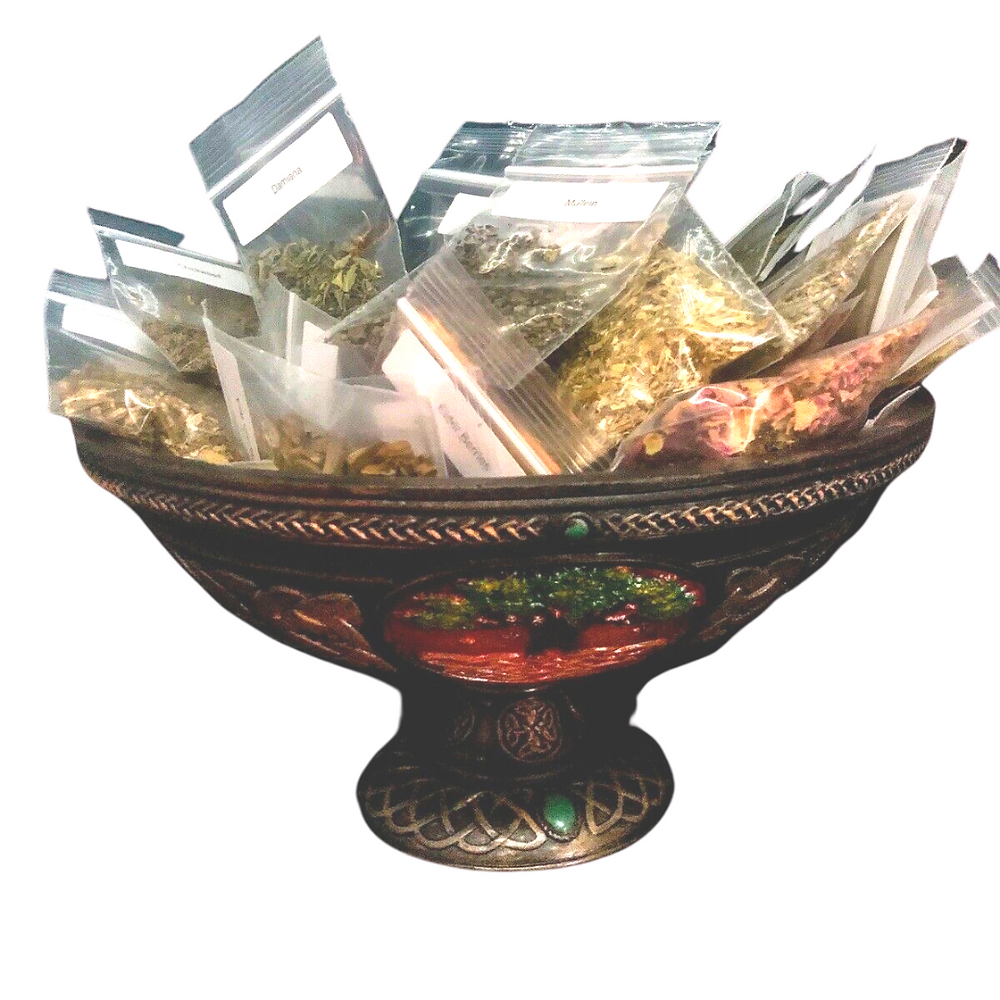 The=is seller offers 10 herbs or resin of your choice from a long list.  The more you buy, the more you save