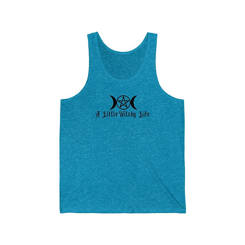 A Little Witchy Life Unisex Jersey Tank