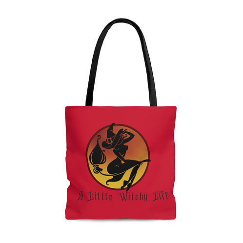 A Little Witchy Life AOP Tote Bag