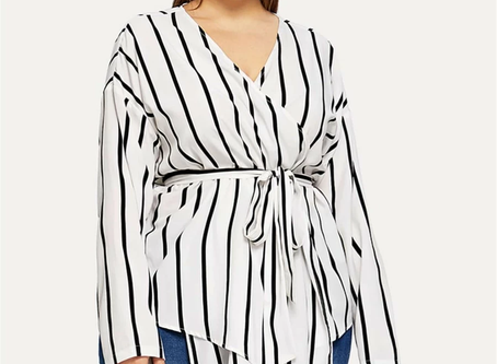 What is a peplum top and why is it an asset for plus sized women?
