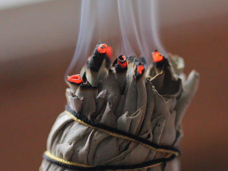 Smudging 101:  How to smudge your home and energy.