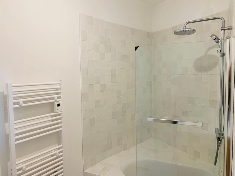 Réalisation salle de bains à Nantes