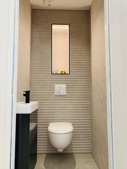 Réalisation de toilettes
