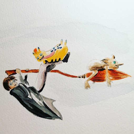 Marius, Flash & Dobby