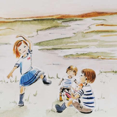Elisa, Henry, Louis & Gaëlle
